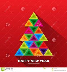 arvore de natal triangulos - Pesquisa Google