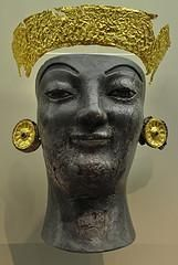Gold and Ivory Statue of Artemis. Date: 6th century BC