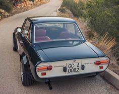 1971 Lancia Fulvia 1.3S Rear   http://bringatrailer.com/2015/08/10/hf-flares-1971-lancia-fulvia-1-3s/