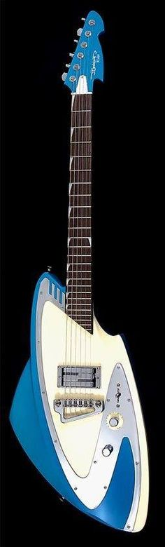 OK Here's a unique one! Many players think J. Backlund Guitars simply look 500% cooler than other guitars.