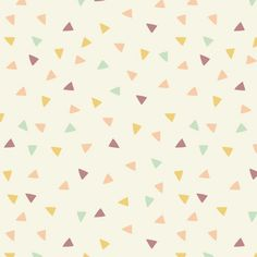 Little triangles pattern.