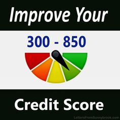 What is your credit score based on? What's the best way to improve your credit score? Here are some tips you can use to improve your credit score.