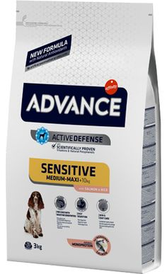 Advance Dog Medium & Maxi Adult Sensitive Salmon & Rice 12 Kg Salmon And Rice, Pet Shop, Portugal, Pet Store, Sensitivity, You Complete Me, Gatos, Food