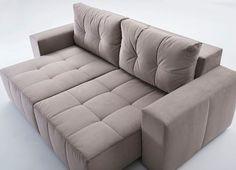 Super confortável e bem moderno, ele tem um design super diferenciado. Tenho certeza que ele vai ficar lindo na sua sala de estar. Esse modelo ele tem várias opções de medidas e tecidos, para combinar perfeitamente com seu ambiente.