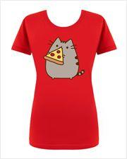 Pizza Pusheen T-shirt (womens)