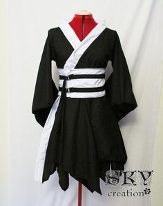 Custom Double Asymmetric Kimono Dress by skycreation on Etsy, $70.00