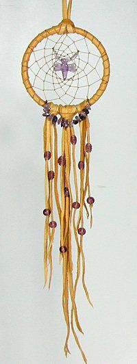 Authentic Native American Apache Indian Dragonfly Spirit Dreamcatcher by Apache artist Cynthia Whitehawk