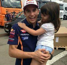 Marc Marquez mit Fan