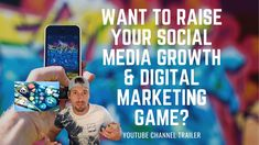 Want To Raise Your Social Media & Digital Marketing Game?  [Youtube Chan... Social Media Digital Marketing, How To Stay Motivated, Channel, Knowledge, Positivity, Teaching, Motivation, Game, Amazing