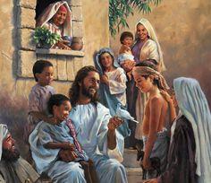 Jesus Christ loves children.