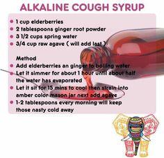 Dr Sebi approved Alkaline Cough Syrup