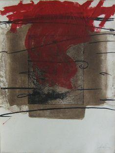 Composition Original Art by Antoni Tàpies :: PicassoMio Willem De Kooning, Franz Kline, Jackson Pollock, Art Espagnole, Abstract Expressionism, Abstract Art, Modern Art, Contemporary Art, Art Informel