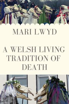 Mari Lwyd - A Welsh Living Tradition of Death Pagan Christmas, Christmas Time, Learn Welsh, Spiritual Beliefs, Spirituality, Spirits Of The Dead, Land Of The Living, Pagan Festivals, Traditional Witchcraft