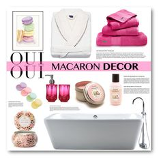 """Oui, Oui: Macaron Decor"" by asteroid467 ❤ liked on Polyvore"