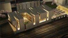 New Musée Cantonal des Beaux-Arts Competition proposal / Allied Works Architecture
