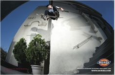 Dickies Skate. Kevin Terpening aka Terp. Proudly standing in harms way since 1922.