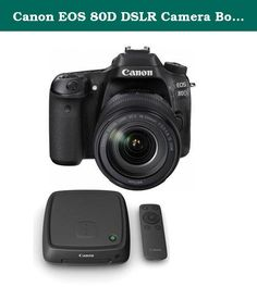 Canon EOS 80D DSLR Camera Body Kit, with EF-S 18-135mm F3.5-5.6 IS USM Lens, Black - With Canon Connect Station CS100. Focus with Precision Whether raising your game to SLR level photography or having fun with a feature-rich, versatile SLR you can use pretty much anywhere, the EOS 80D camera is your answer. It features an impressive 45-point all cross-type AF system that provides high-speed, highly precise AF in virtually any kind of light. To help ensure photographers don't miss their…