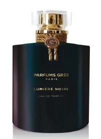 Lumiere Noire Gres perfume - a new fragrance for women 2013. Top note is bergamot; middle notes are rose and patchouli; base notes are musk and amber.