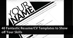 preview fantastic resume cv show off skills freebies photo