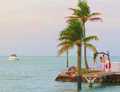 Tropical and Gorgeous! #TheJetty #Tropical #Destination #KeysLife #WeddingArch #FaroBlanco #IDO