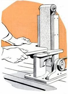 12 Free Sander Plans: Build Your Own Belt, Drum or Thickness Sander |