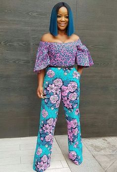Rock the Latest Ankara Jumpsuit Styles these ankara jumpsuit styles and designs are the classiest in the fashion world today. try these Latest Ankara Jumpsuit Styles 2018 African Attire, African Wear, African Women, African Dress, African Style, African Clothes, African Print Jumpsuit, Ankara Jumpsuit, Ankara Dress