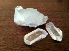 """Celestite has an uplifting, calming and expansive quality, making it good for contemplation and meditation, and is effective at lifting heavy moods and sadness..."" -from The Power of Crystals and Crystal Healing by Sue and Simon Lilly Ohio Celestites are today's inspiring Crystal of the Day! :)"