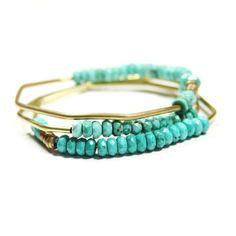 turquoise bangles~