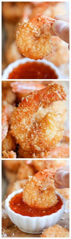 Coconut Shrimp  by damndelicious #Coconut_Shrimp #Easy