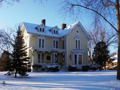 Another Great Historic Home Decked For Christmas In Romeo Michigan