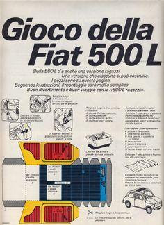 Corrierino e Giornalino: Gioco della Fiat 500 L