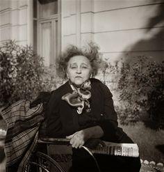 Colette by Gisèle Freund, 1954