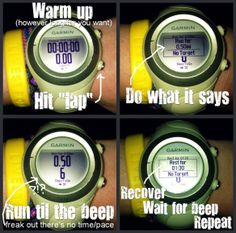 Garmin Interval Workout tutorial - how to run any distance repeats without a track