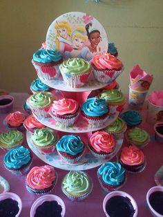 Cupcakes Princesas Disney