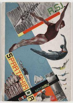 Gustav Klutsis. Postcard for the All Union Spartakiada Sporting Event. 1928