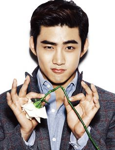 Taecyeon Throws Himself A Bachelor Party For CéCi's December 2013 Edition | Couch Kimchi