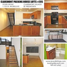 loft for rent live work downtown pomona inland empire los