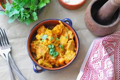 Sri Lankin Chicken Veggie Curry. This recipe is base on one by Charmaine Solomon, a pioneer of Sri Lankan cooking in Australia, modified with the addition of some veggies to make it a great one-pot dish.