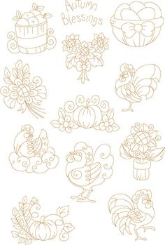 New_redwork_embroidery_designs