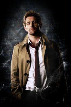 First Official Image Of Matt Ryan As Constantine