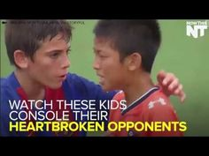 Junior Soccer World Challenge - Kids Show Us How To Have Compassion In Victory We can all learn something from these kids