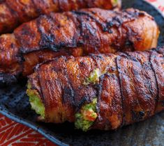SHARING IS CARING!0000This Bacon Wrapped Guacamole Stuffed Chicken is the total package! And if you want to add even more over the top deliciousness…melt some of your favorite cheeseon top,of course! If you've seen some of the other recipes on this site, you know that I am a total fan of anything avocado. Therefore, I …