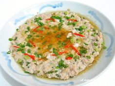 Steamed Minced Pork with Dong Cai 冬菜蒸猪肉 - Anncoo Journal