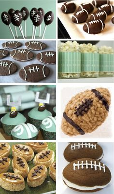 SUPER BOWL DESSERT IDEAS - great way to wrap up the game.  By Room for Dessert!