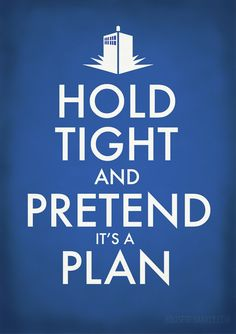 DW: Hold Tight and Pretend it's a Plan by *brokensymphony on deviantART