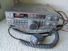 KENWOOD TS-440S HF HAM RADIO TRANSCEIVER RECEIVER w/MICROPHONE 440 S