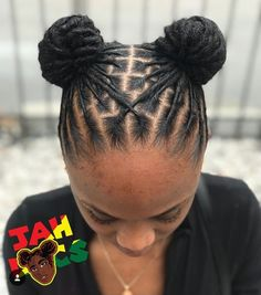 Cute! Short Dreadlocks Styles, Short Locs Hairstyles, Dreadlock Styles, Kids Braided Hairstyles, Girl Hairstyles, Short Hair Styles, Natural Hair Styles, Wedding Hairstyles, Afro