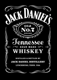 jack daniels label - Bing Images