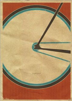 Poster 50 x 70 cm: singlespeed - fixie bicycle graphic by Dirk Petzold - high quality art print, new art poster: Dirk Petzold: Amazon.co.uk:...
