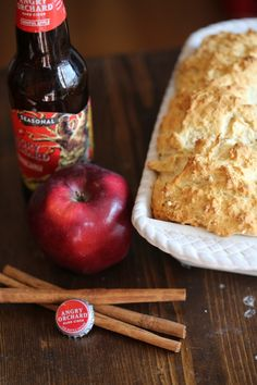 beer bread/beer bread recipe/beer bread easy/beer bread recipe easy/beer bread dip/beer bread recipe tastefully simple/beer bread self rising flour/beer bread recipe 3 ingredients/Beer Is Bread .com/allforyou/beerbread Apple Recipe Quick, Quick Bread Recipes, Honey Recipes, Beer Recipes, Apple Recipes, Dairy Free Recipes, Fall Recipes, Party Recipes, Homebrew Recipes
